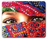 1art1 89288 Frauen - Arabische Augen Mauspad 23 x 19 cm