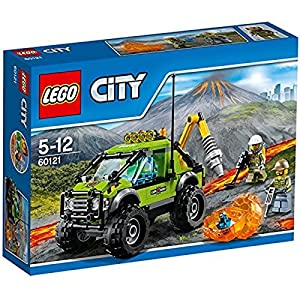 LEGO City 60121 - Set Costruzioni City Vulcano Camion delle Esplorazioni Vulcanico 5194521413175 LEGO