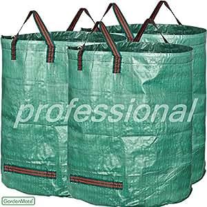 GardenMate® 3x sac de déchets de jardin 272L PROFESSIONAL