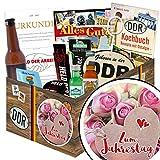 Zum Jahrestag | Männer Geschenke | Geschenkideen | Zum Jahrestag | Männergeschenke | Geschenk zum Jahrestag für Männer | mit Pfeffi Likör, Kondomen, Bier und mehr