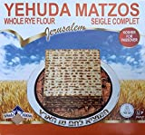 Pain Azyme à la farine complète, Seigle complet, Yehuda Matzos Kosher Matsa - matsoth, Casher