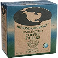 Beyond Gourmet Basket Style Unbleached Coffee Filter - 100 per pack -- 6 packs per case.