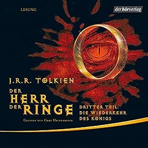 Die Wiederkehr des Königs: Der Herr der Ringe 3 (Hörbuch