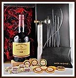 Geschenk Redbreast 12 Jahre irischer Whiskey + Flaschenportionierer + 10 Edel Schokoladen + 4 Whisky Fudge kostenloser Versand
