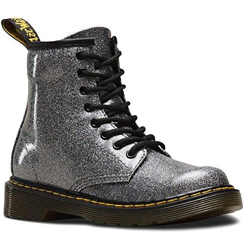 Dr. Martens Girls' 1460 Y Ankle Boots, (Blue Coated Glitter 029), 4 Child Uk (37 Eu)
