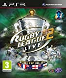 NEW & SEALED! Rugby League Live 2 World Cup Edition Sony Playstation 3 PS3 Game
