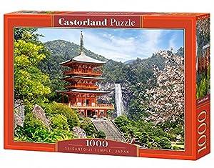 CASTORLAND Seiganto-ji-Temple 1000 pcs Puzzle - Rompecabezas (Puzzle Rompecabezas, Paisaje, Niños y Adultos, Niño/niña, 9 año(s), Interior)