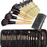Cadrim Pinceaux Maquillage Cosmétique Professionnel 24pcs Set Kit Cosmétique Brush Beauté Maquillage Brosse Makeup Brushes Cosmétique Fondation avec Sac