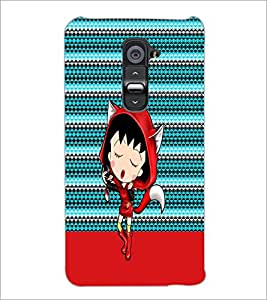 PrintDhaba Cartoon D-4748 Back Case Cover for LG G2 (Multi-Coloured)