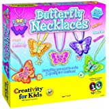 Creativity For Kids Kit Butterfly Necklaces
