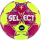 Select Match Soft Ballon de Handball Adulte Unisexe, Red/Yellow, Junior(2)