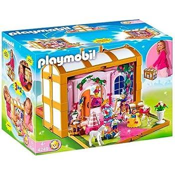 playmobil 4249 jeu de construction coffre de princesses transportable jeux et. Black Bedroom Furniture Sets. Home Design Ideas