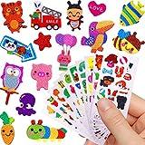 German Trendseller - 24 x Sticker Bogen - Kinder Mix ┃ Neu ┃ Aufkleber Für Kinder┃ Kindergeburtstag ┃ Mitgebsel ┃ Viele Schöne Motive ┃ 24 Stück