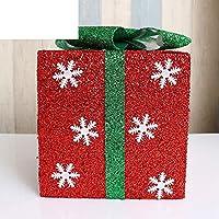 KYWBD Caja decoración,Dobladillo de árbol de Navidad-A