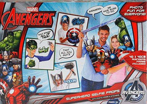 Party Fun Marvel Avengers photo Selfie Accessoires Coffret cadeau