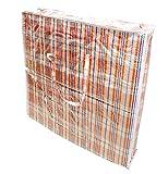 KARIERTE TRAGETASCHE TÜRKISCHE TASCHE 60x70x15 cm Farbe kann abweichen