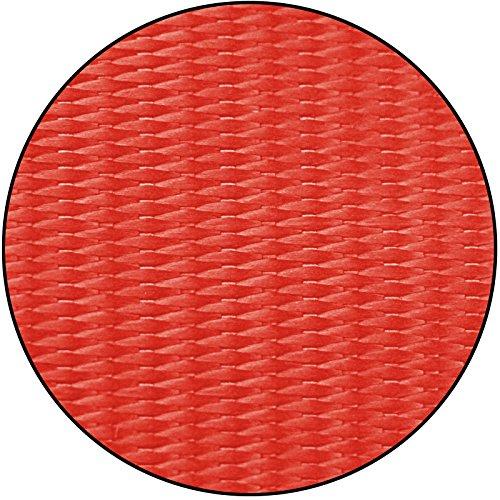 Slackline mit Schriftzug I Love Slackline in verschiedenen Längen und Farben von Alpidex, Slackline Länge:15m - 2t, Slackline Farbe:I Love Slackline. rot - 3