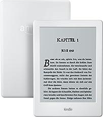 Kindle eReader, 15,2 cm (6 Zoll) Touchscreen ohne Spiegeleffekte, WLAN (Weiß) - mit Spezialangeboten