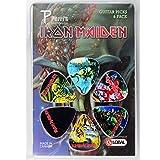 Iron Maiden 6x set di plettri–Dark Artwork plettri per chitarra