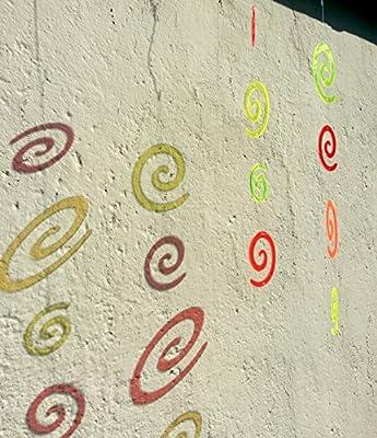 LISA DEKO Windspiel Wirbel 4-tlg - Größe L - Sonnenfänger/Suncatcher von LISA DEKO - Du und dein Garten