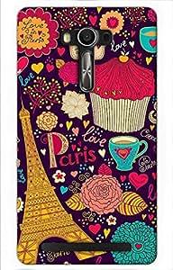 girl Printed Case for Asus Zenfone 2 Laser ZE550KL