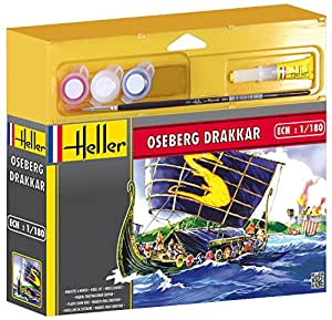 Heller Junior - 49056 - Maquette - Oseberg Drakkar