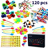 Amy & Benton Party Prizes,120PCS Party Bag Fillers Toys for Kids,Children Birthday Party Favours Assorted Toy for Pinata,Carnival Prizes Bild