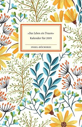 Insel-Bücherei Kalender 2019: »Das Leben ein Traum«