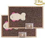 BPS 2Pcs Kratzbaum Katzen Kratzbaum Pappe Spielzeug Katzen Zubehör Ideal für Nagelspitzen (24X39) BPS-1853 * 2