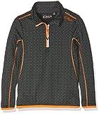 CMP Jungen Funktionsshirt Ski, Nero-Bianco, 116, 3L10864