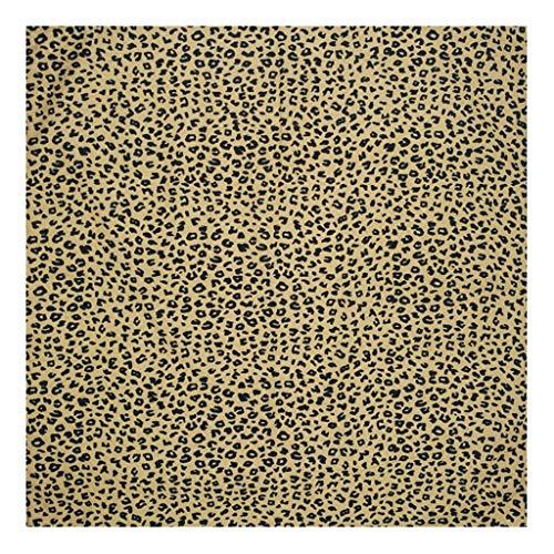 Kofun Stirnband Bandana, Bohemian Vintage Leopard Tiger Print Unisex Baumwolle Square Schal Outdoor Radfahren Stirnband Bandana Hip-Hop-Armband Krawatte 3# -