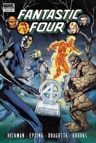 Fantastic Four by Jonathan Hickman Volume 4 (Fantastic Four (Marvel Hardcover)) by Steve Epting Jonathan Hickman (11-May-2011) Hardcover