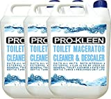 15L of Pro-Kleen Toilet Macerator Cleaner & Descaler | Highly Concentrated, Long-Lasting Formula | Compatible With All Saniflo Pump Units, Toilets & Urinals | Helps Prolong Life of Unit