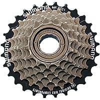 Shimano-Ruota libera a 7 Velocità, ideale per ingranaggi bicicletta, 14 28 denti, viti su