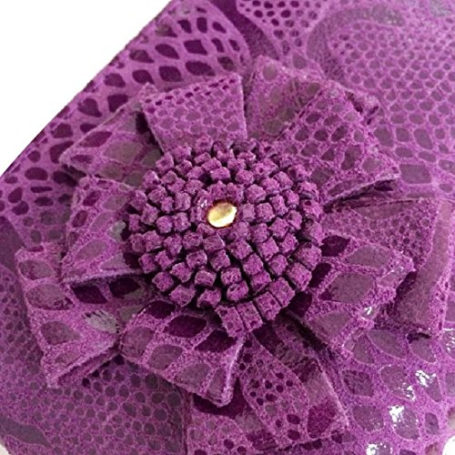 kilofly , Damen Clutch One Size violett