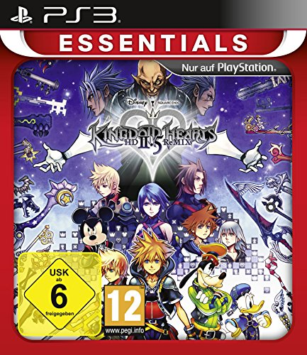 Hearts Kingdom Ps3 (Kingdom Hearts HD 2.5 ReMIX Essentials (PS3))