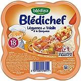 Blédina Blédichef Légumes et Volaille à la Basquaise 260 g