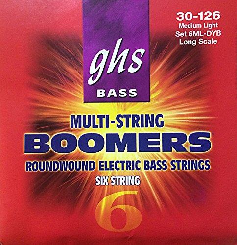 GHS Boomers 030-126, 3045-6ML · Saiten E-Bass