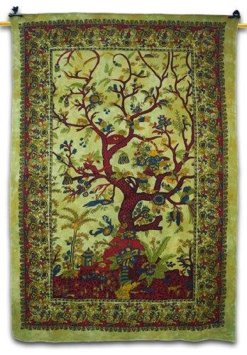 Handicrunch Tree Of Life Tapestry Home Decor