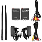 Sumicline A623 12v 2 4g Wireless Video Transmitter And Receiver Kit For Reversing Camera Parking Assist Systems Sender And Receiver Set Spielzeug