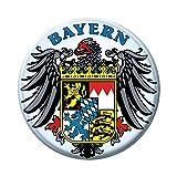 Küchenmagnet Bayern Wappen Emblem 16239 Gr. ca. 5,7cm