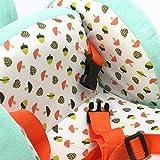 Labebe Baby hölzernes Schaukelpferd Blaues Eichhörnchen / Hund, Jungen & Mädchen Kleinkind SchaukelnReiten-auf Spielzeug für 1-3 Jahre alt, Gefüllter Tier Sitz, ASTM / CE / CE Sicherheit zertifiziert, kreatives Geburtstagsgeschenk - 6