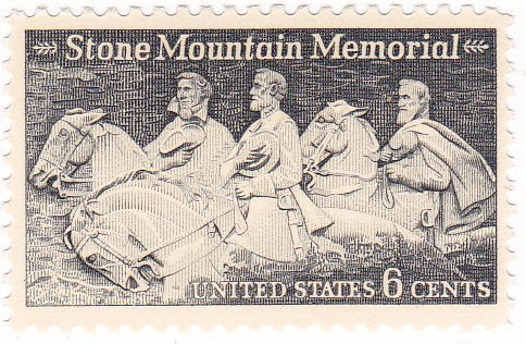 1970-us-6c-stamp-stone-mountain-memorial-issue-scott-1408-by-stamps
