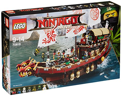 Lego Ninjago 70618 Vascello del Destino