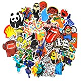 Sticker Pack [150-Pcs],Neuleben Graffiti Sticker Decals Vinyls for Laptop,Kids,Cars,Motorcycle,Bicycle,Skateboard Luggage,Bumper Stickers Hippie Decals bomb Waterproof …