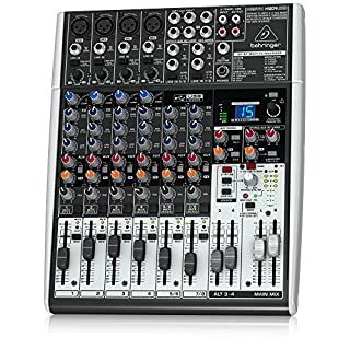 Behringer X1204USB Xenyx 12 Input 2/2 Bus Mixer (B0039PPW60) | Amazon Products
