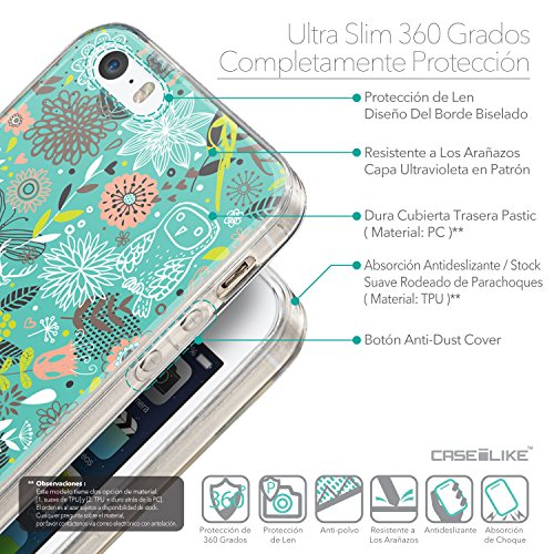 CASEiLIKE Comic Beschriftung Rosa 2912 Ultra Slim Back Hart Plastik Stoßstange Hülle Cover for Apple iPhone SE +Folie Displayschutzfolie +Eingabestift Touchstift (Zufällige Farbe) 2245
