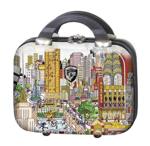 Hardside Beauty Case (PREMIUM DESIGNER Hardside Luggage - Heys Artist Fazzino New York Beauty Case 470577031&Artist&36)