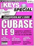 Cubase LE 9 Vollversion im Keys Special -