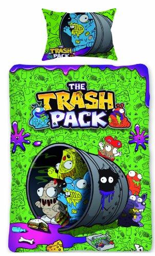 The Trash Pack Bettwäsche-Set für Einzelbett (Pack Bettwäsche-set)
